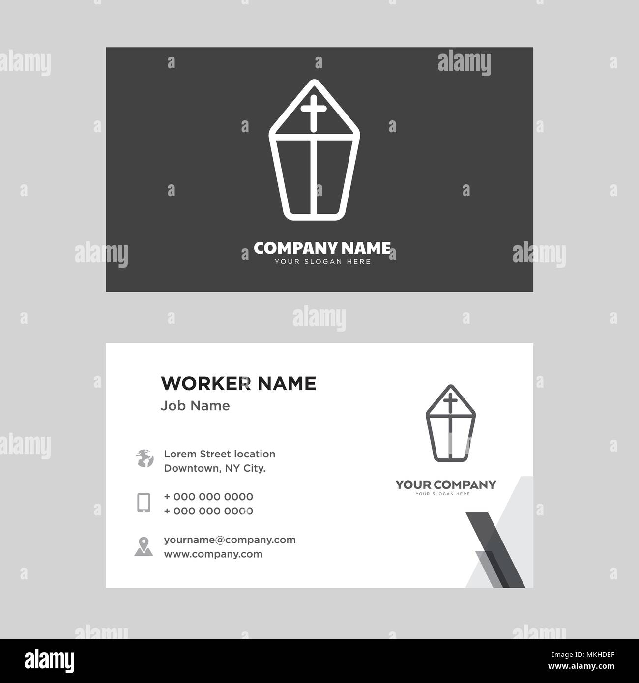 Mitre pope hat stock photos mitre pope hat stock images alamy pope business card design template visiting for your company modern horizontal identity card vector maxwellsz
