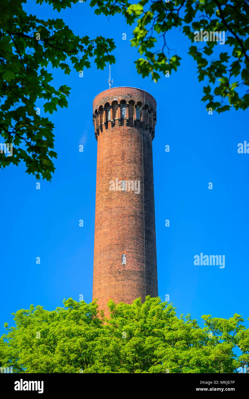 Historical Wassertum in the Rothenburgsort, Hamburg, Germany, Europe, Historischer Wassertum in Rothenburgsort, Deutschland, Europa - Stock Image