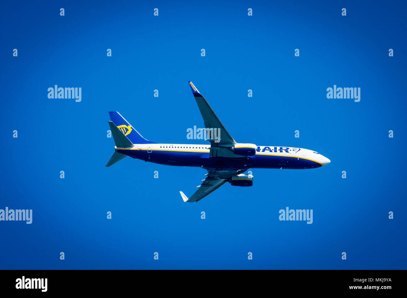 Ryanair Boeing 737 - Stock Image