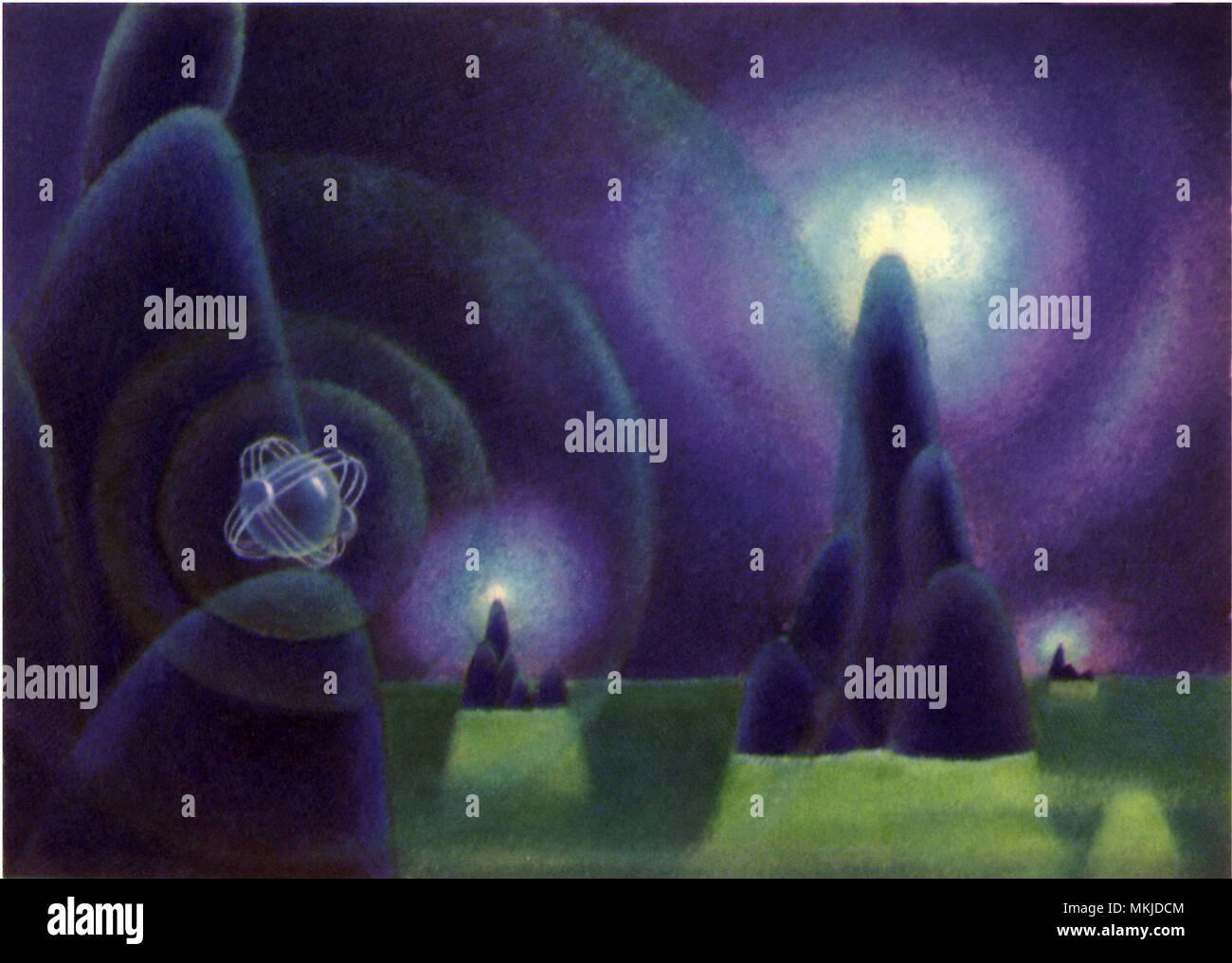 Sci Fi - Alien Planet - Stock Image
