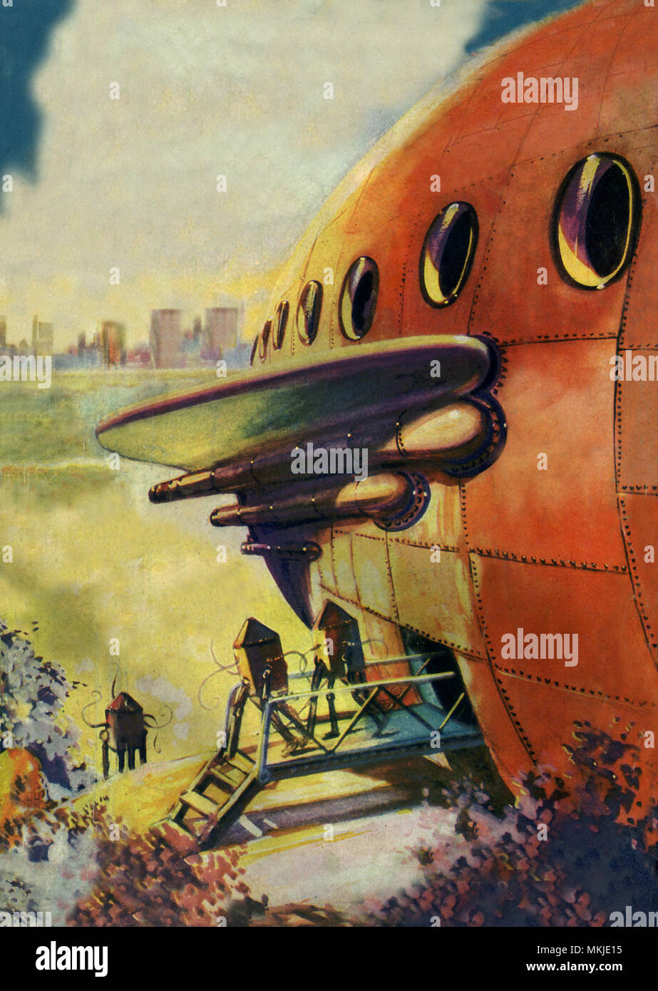 Sci Fi - Alien Invaders Stock Photo