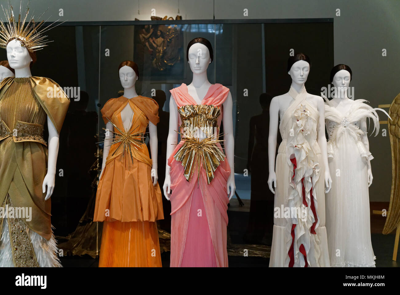 """9651d408a7c """"Heavenly Bodies: Fashion and the Catholic Imagination"""" opened at the  Metropolitan Museum of Art, New York, New York on May 7 with creations by  some ..."""