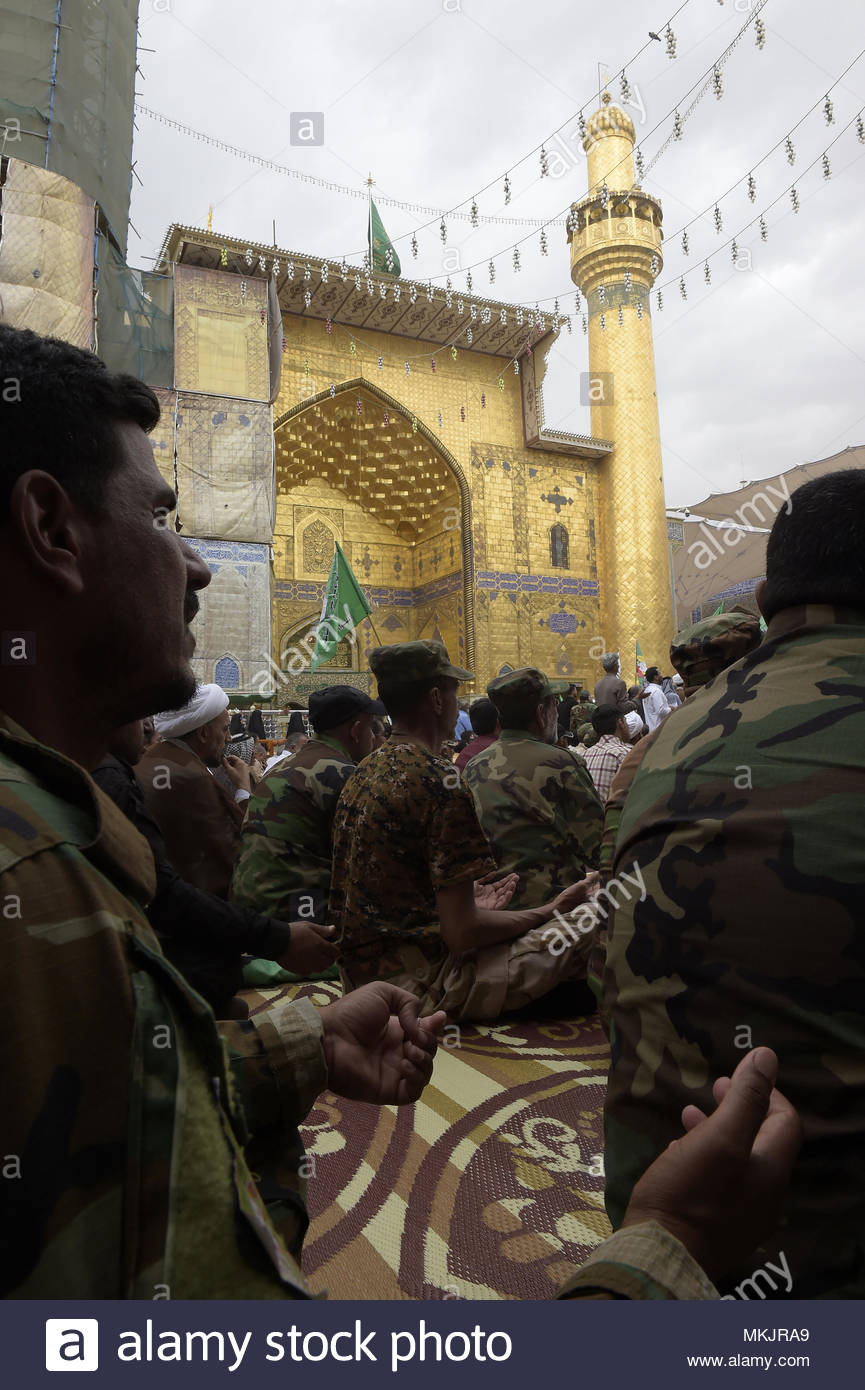 Amazing Operational Eid Al-Fitr 2018 - najaf-iraq-8th-may-2018-crowds-gather-for-the-funeral-of-leader-of-the-formation-of-the-imam-ali-brigade-sheikh-karim-al-khakani-in-najaf-iraq-on-may-8-2018-he-was-commander-of-the-second-brigade-in-the-popular-crowd-and-commander-of-operations-in-eastern-anbar-c-copyright-credit-crowdsparkalamy-live-news-MKJRA9  Best Photo Reference_935142 .jpg