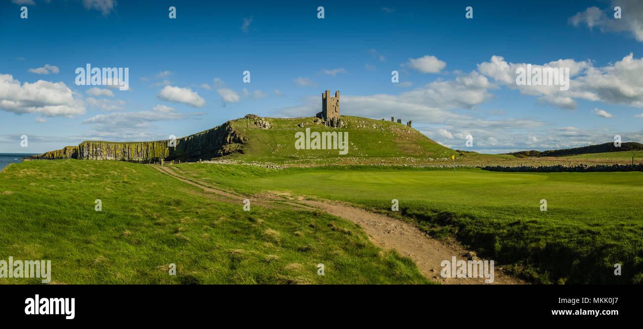 Northumberland, UK. - Stock Image