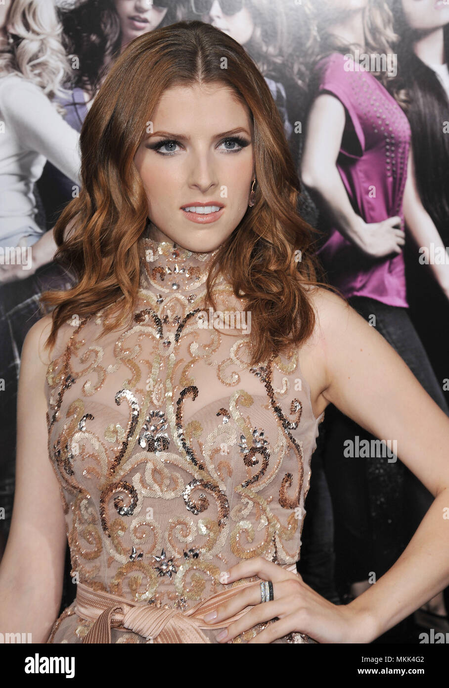 Anna Kendrick 40 Red Carpet Event High Resolution Stock Photography And Images Alamy