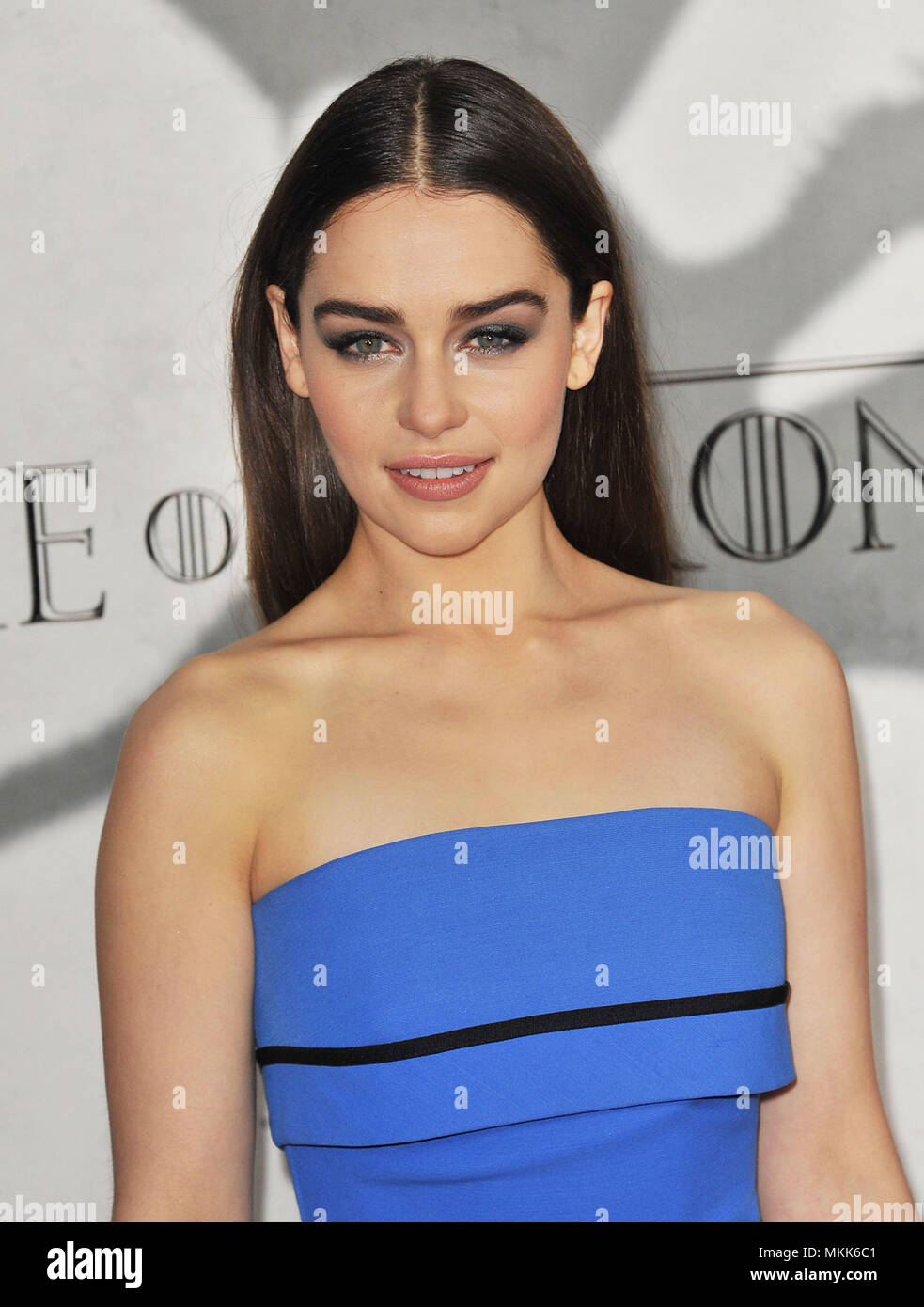 f8ea55ef4cb92b Emilia Clarke at the Game Of Thrones Premiere at the Chinese Theatre in Los  Angeles.