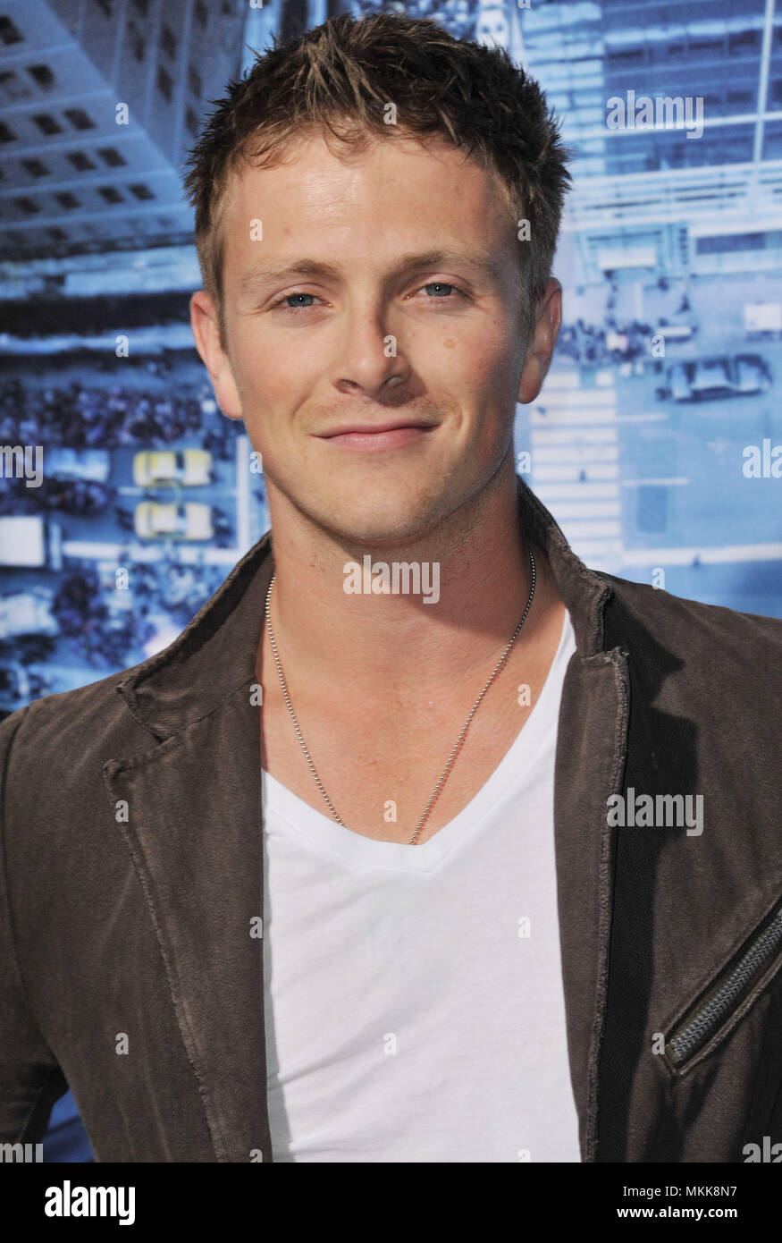 Charlie Bewley At The Man On A Ledge Premiere At The Chinese Theatre In Los Angeles