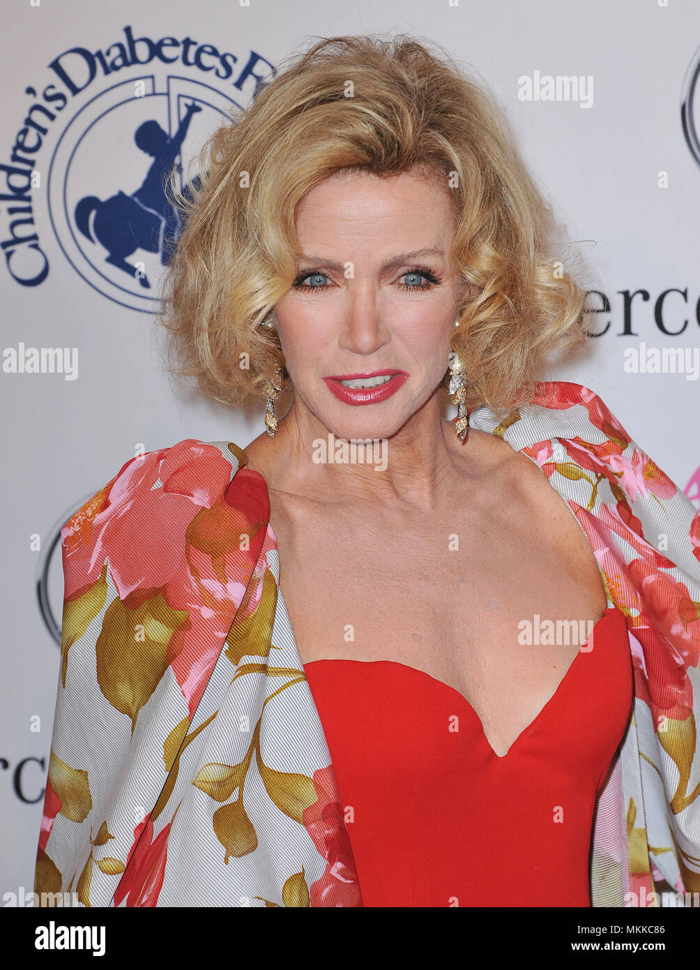 Donna Mills At The Carousel Of Hope 2012 At The Beverly Hilton Hotel In Los Angeles
