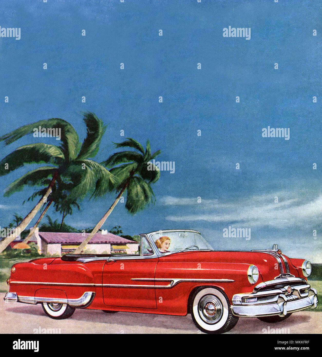 Pontiac Convertible Stock Photos Images 1953 Grand Prix Image