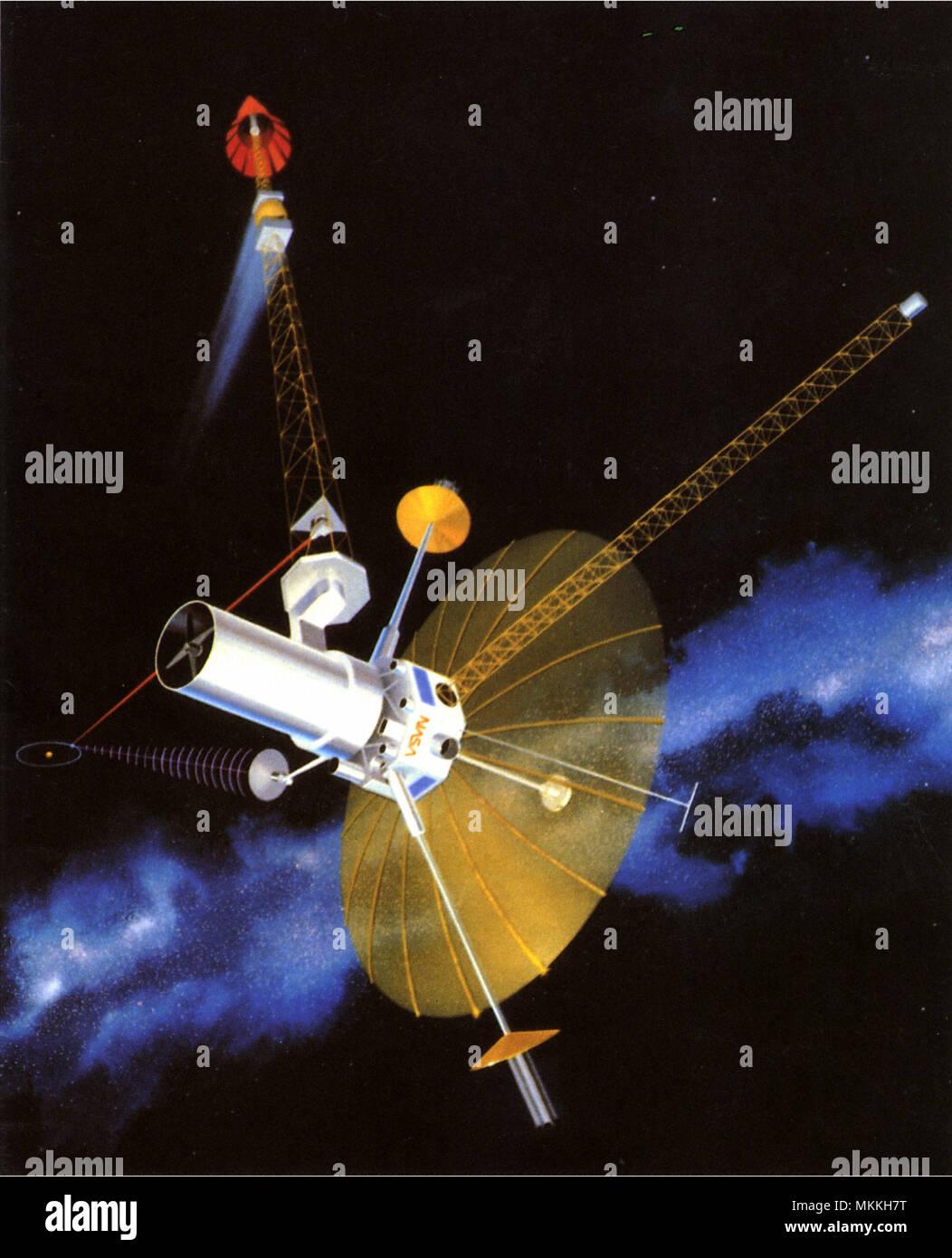 Interstellar System - Stock Image