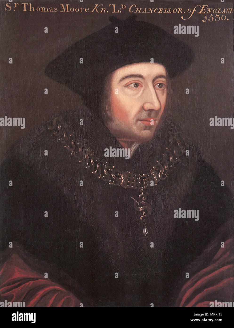 Sir Thomas Moore 1530 - Stock Image