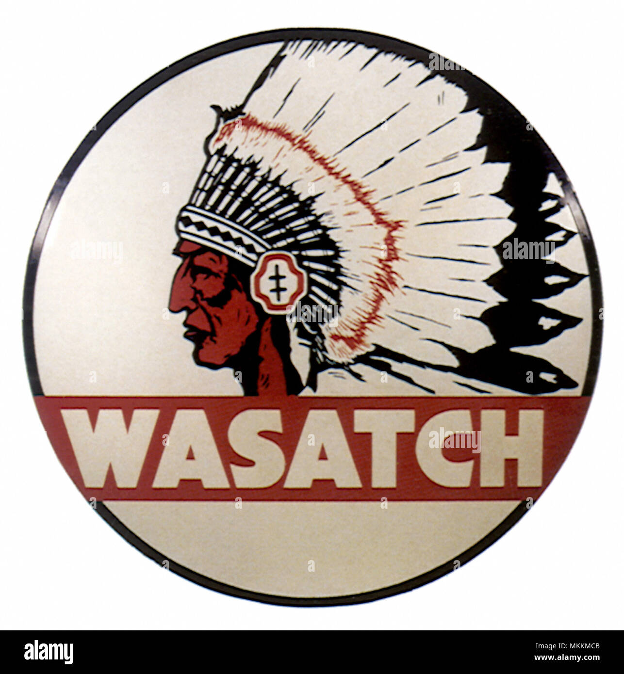 Wasatch Sign - Stock Image