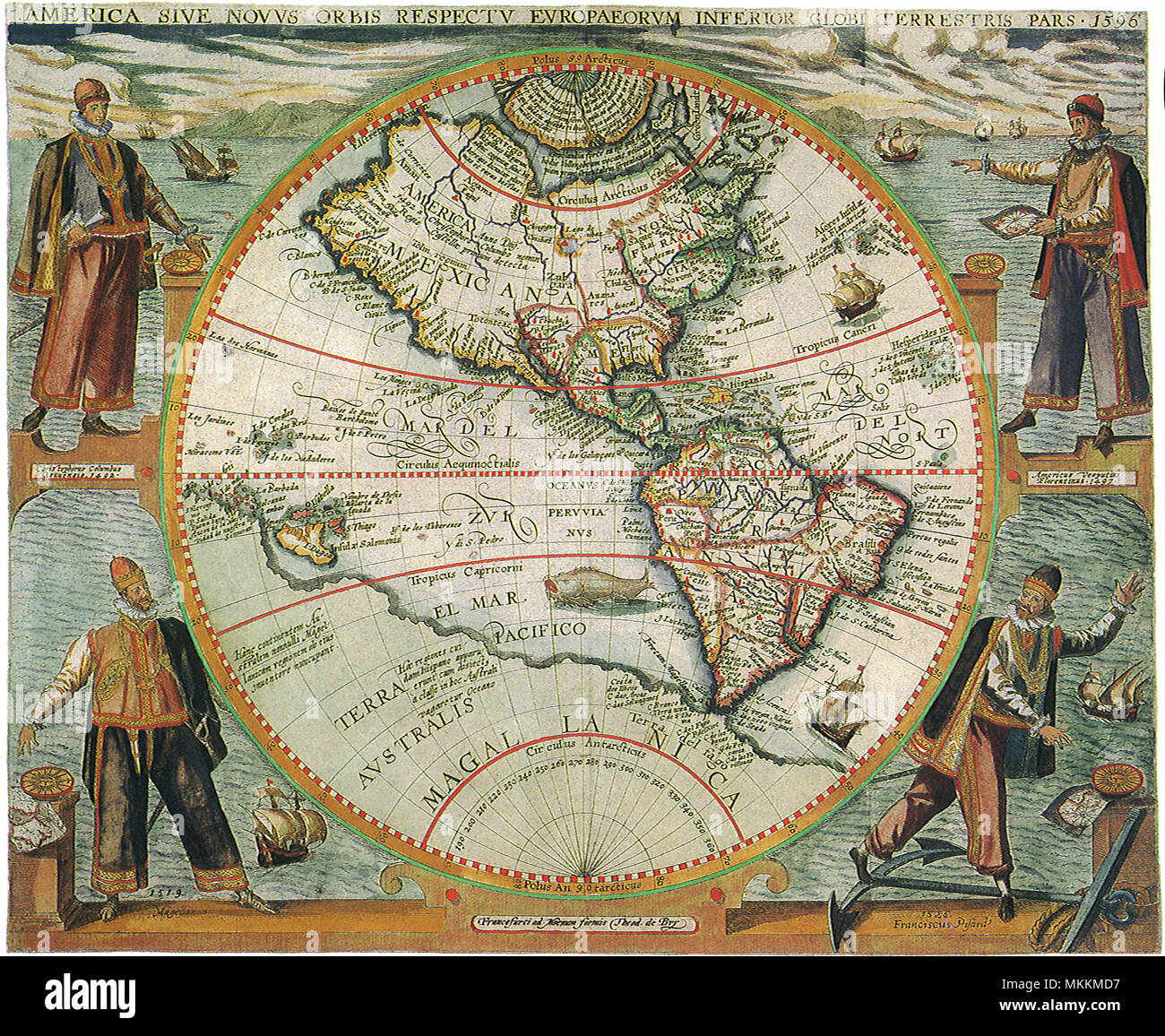 Old World Map 1597 Stock Photo: 184215283 - Alamy on old map sea monsters, old world maps framed, ancient beasts and monsters, antique nautical monsters, maps with sea monsters, see monsters, old world maps with mermaids, nice silly sea monsters, old maps of the world, map of us monsters, old world map with countries, here there be monsters, old world maps murals, old world explorer maps, old world maps printable, old japanese monsters, ancient sea monsters, vintage maritime sea monsters, old nautical maps,