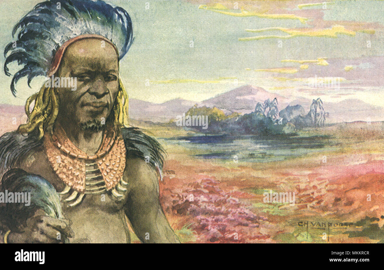 African Chief - Stock Image