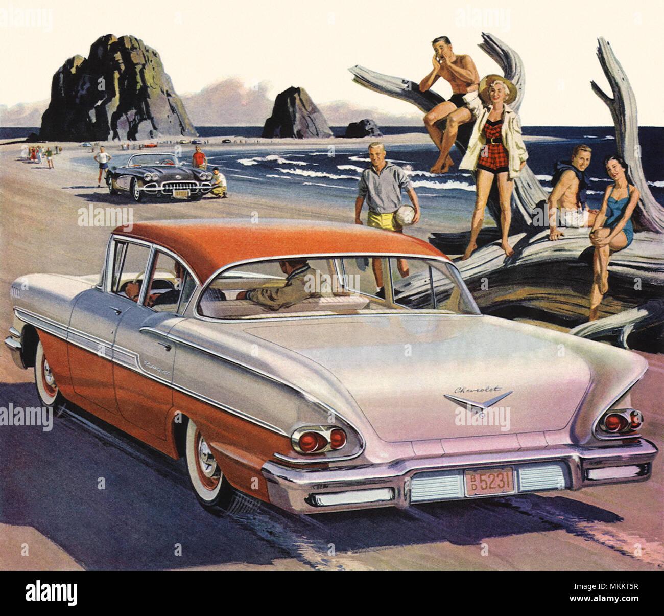 Kelebihan Chevrolet Bel Air 1958 Spesifikasi
