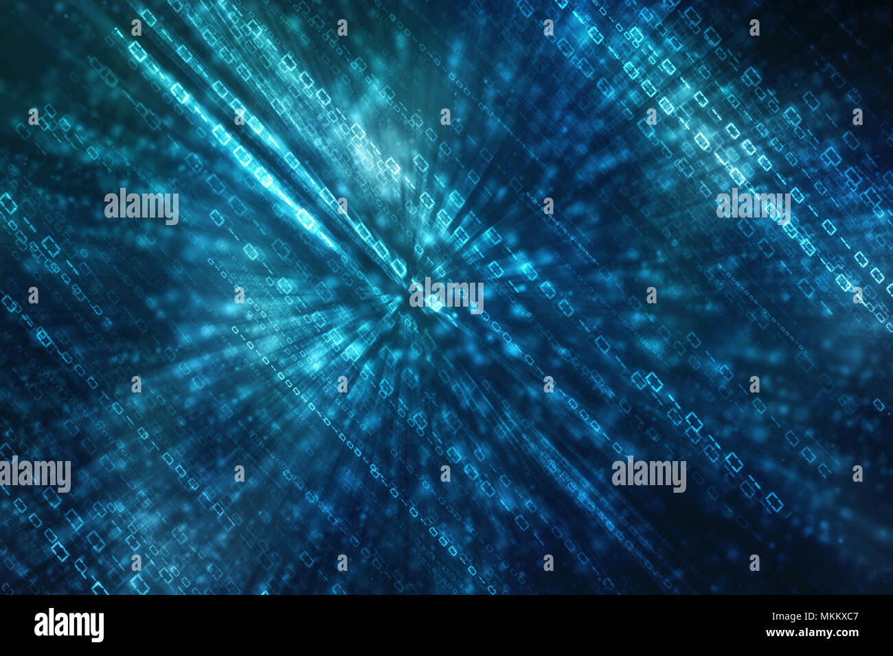 Abstract Matrix Numbers Background Stock Photos Abstract