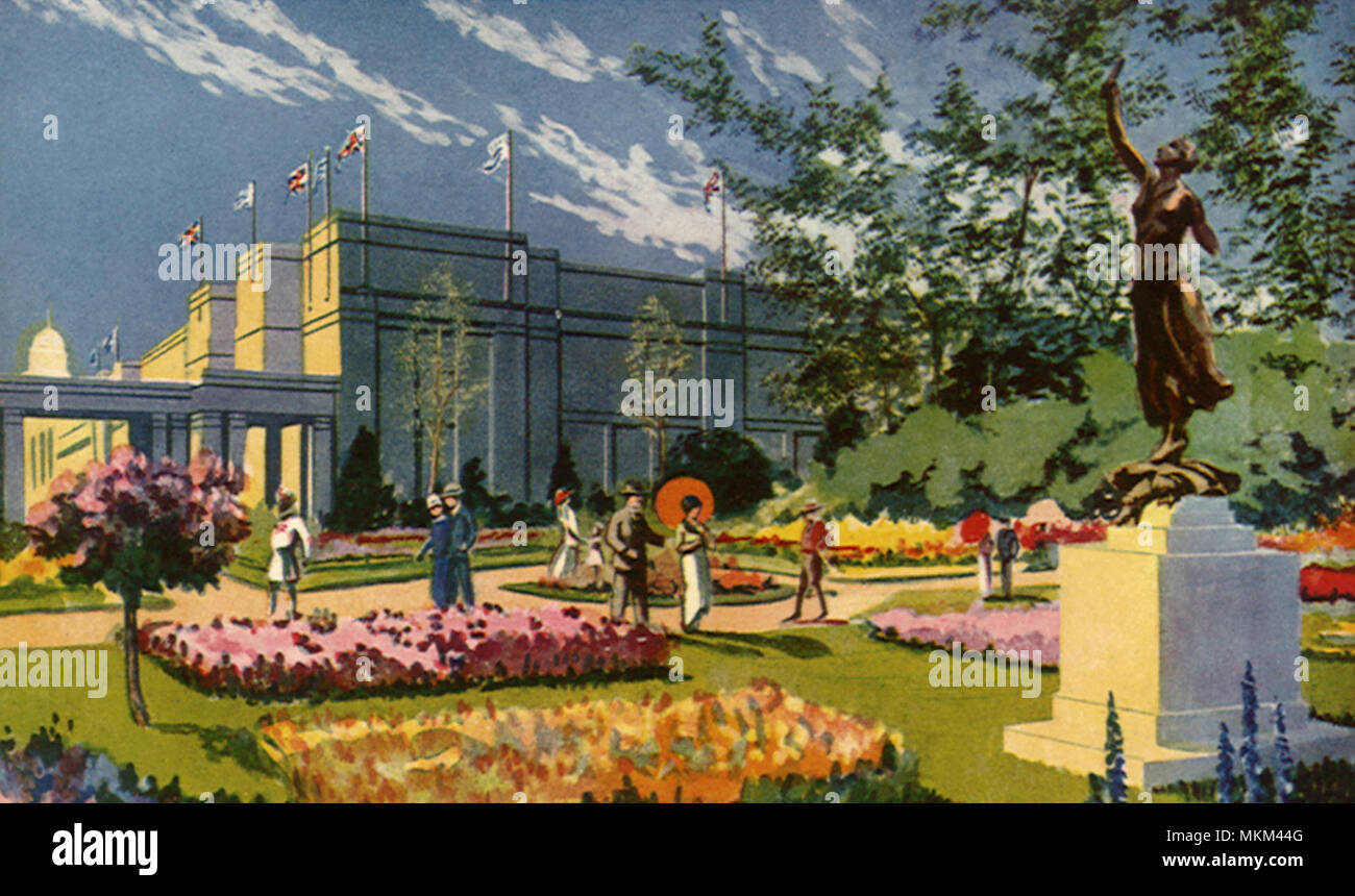 Palace of Industry - Stock Image
