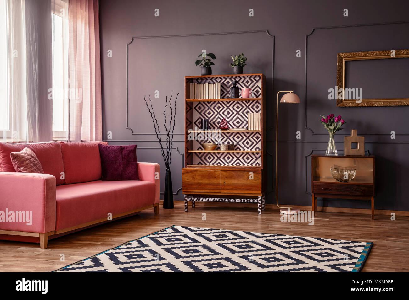 Dark Grey Sofa Cushions In Stock Photos Dark Grey Sofa Cushions In