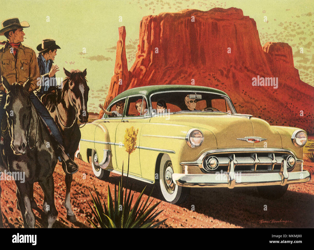 1953 Chevrolet Bel Air Stock Photo 184235520 Alamy Chevy