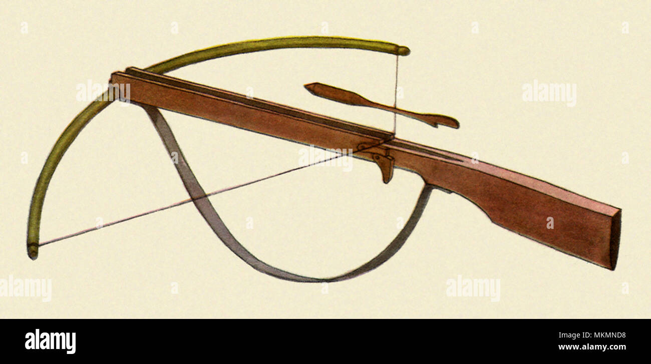 Wooden Crossbow Stock Photos & Wooden Crossbow Stock Images