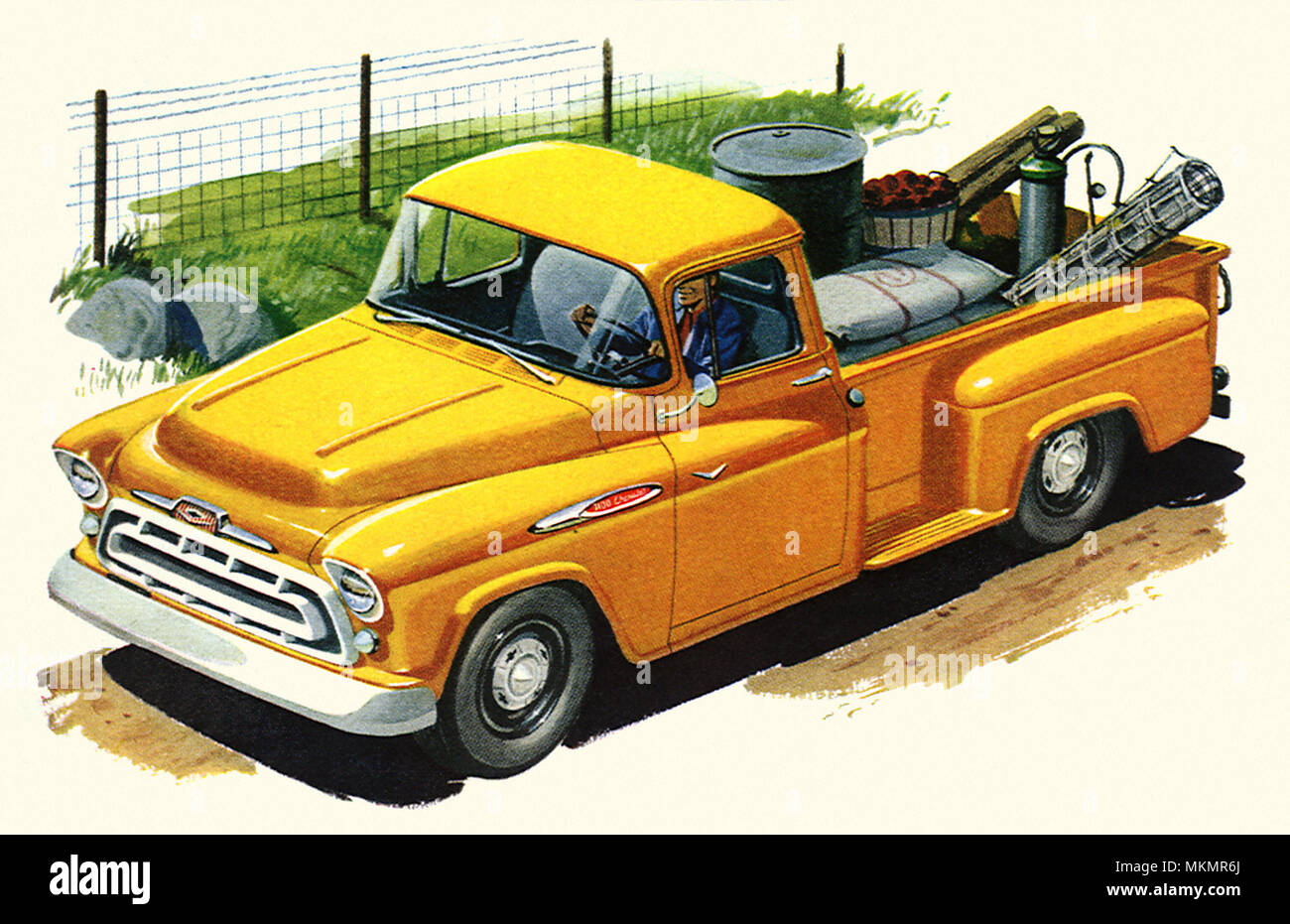 1957 Chevy Truck Stock Photos Images Alamy Pickup Sale Image