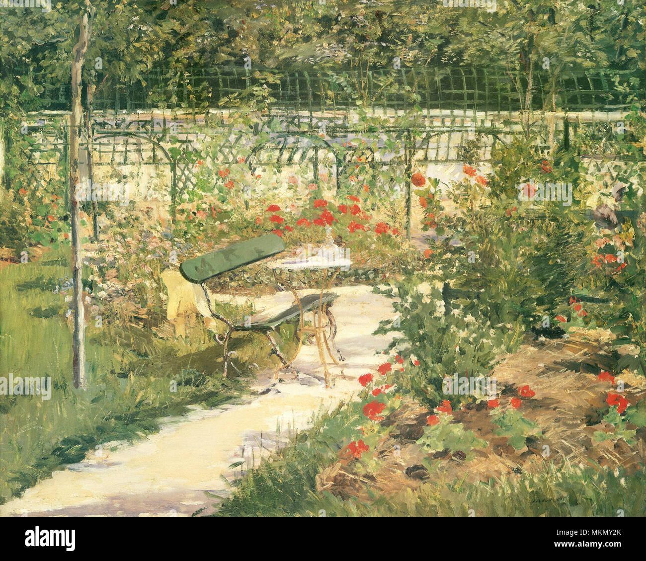 The Artists' Garden, Versailles Stock Photo: 184242427 - Alamy