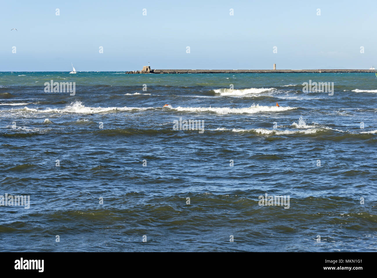 Europe Italy Tuscany Livorno Terrazza a Mare 25 Stock Photo ...