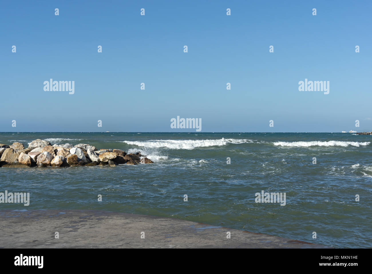 Europe Italy Tuscany Livorno Terrazza a Mare 26 Stock Photo ...