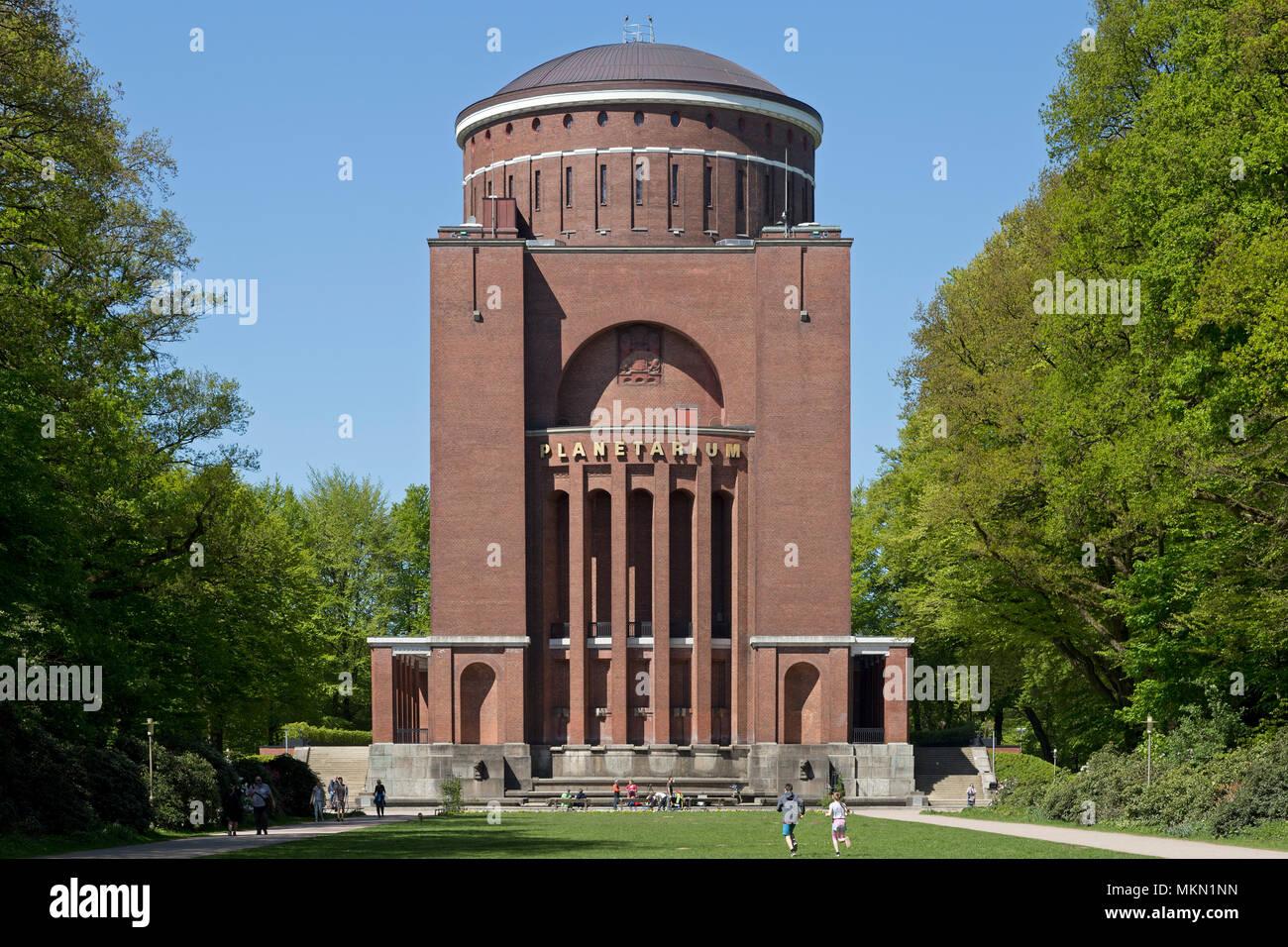 planetarium, Hamburg, Germany - Stock Image