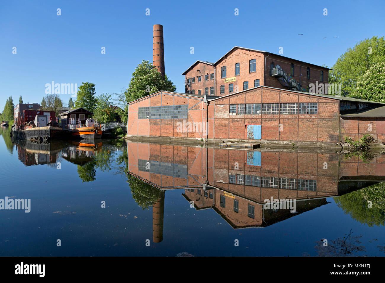 Honigfabrik, Wilhelmsburg, Hamburg, Germany - Stock Image
