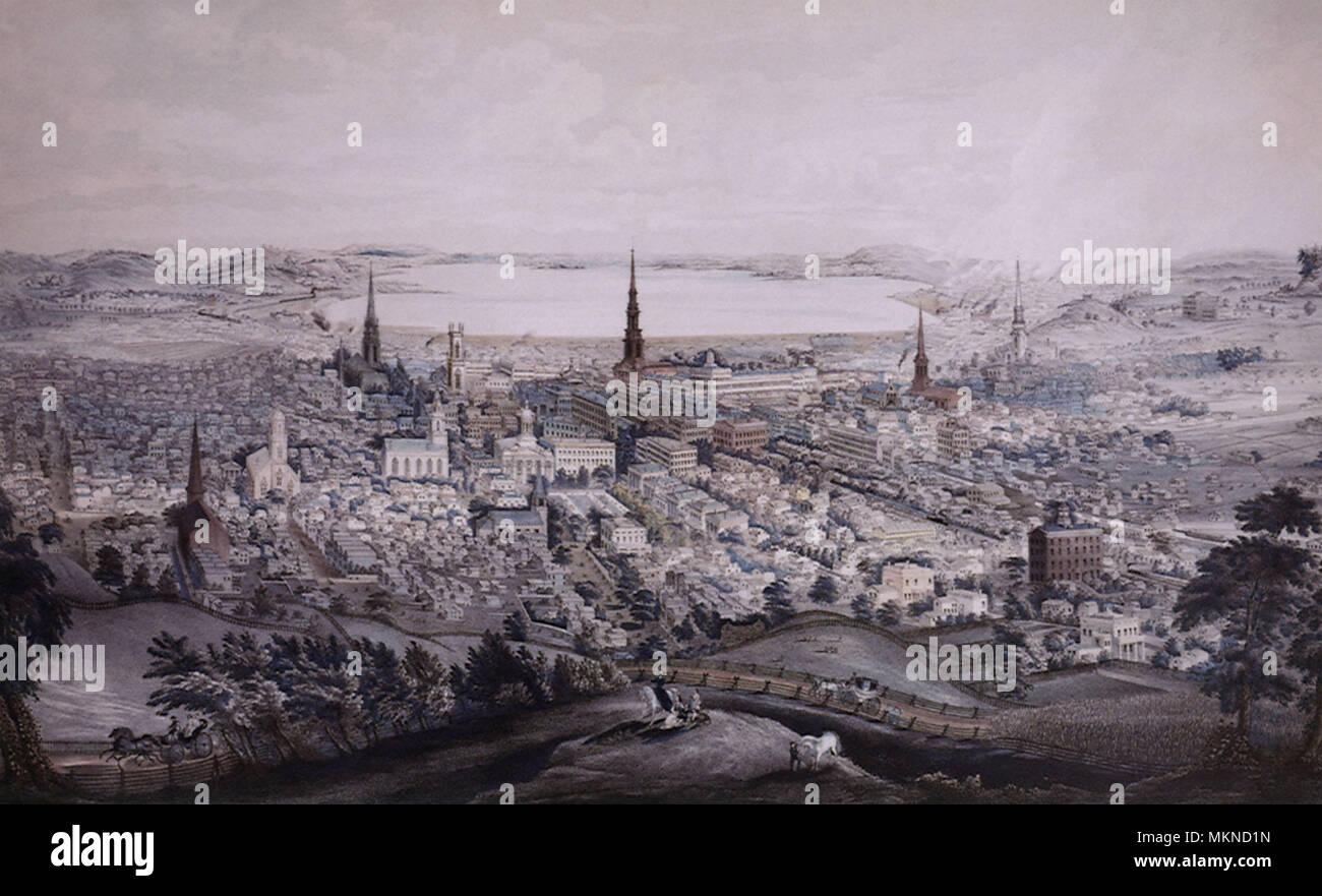 Syracuse, New York 1852 - Stock Image