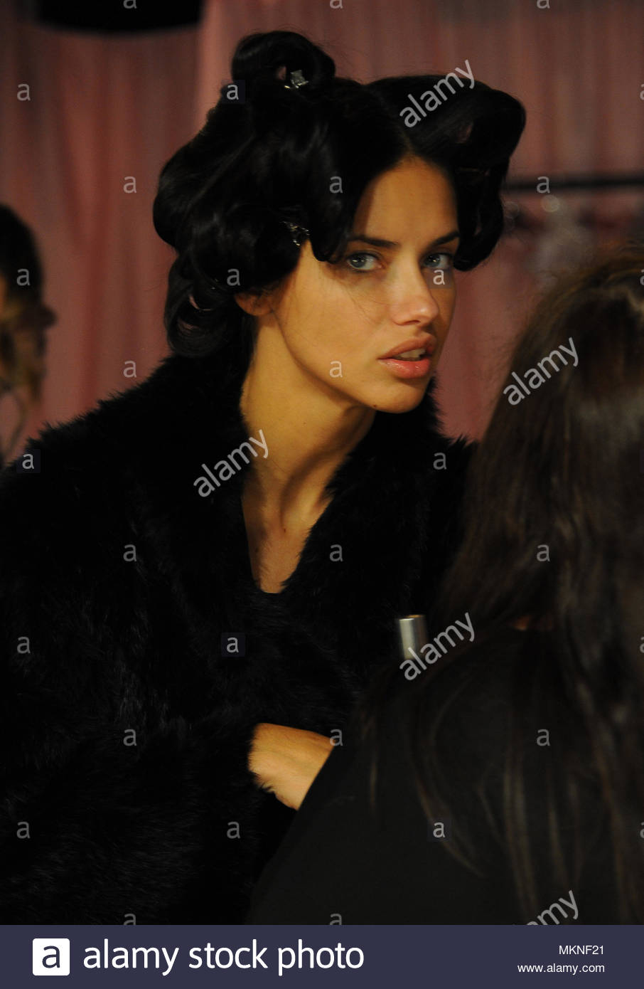 Adriana Lima The Famous Victoria Secret Angels Before Show