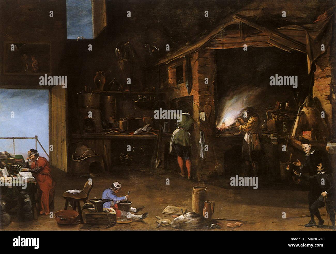 The Alchemist - Stock Image