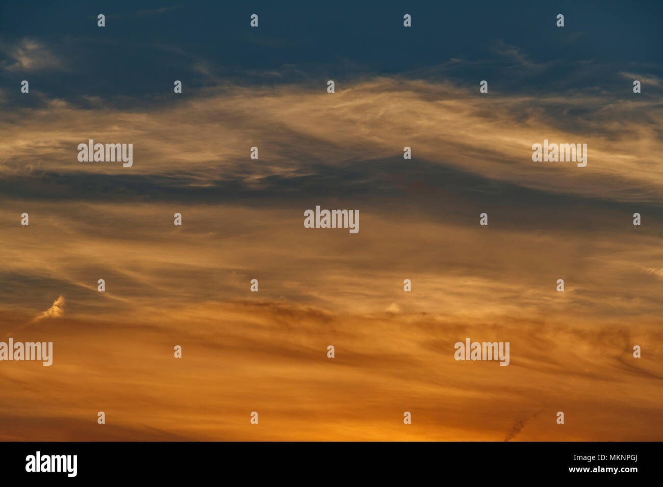 Cloud formations - Stock Image
