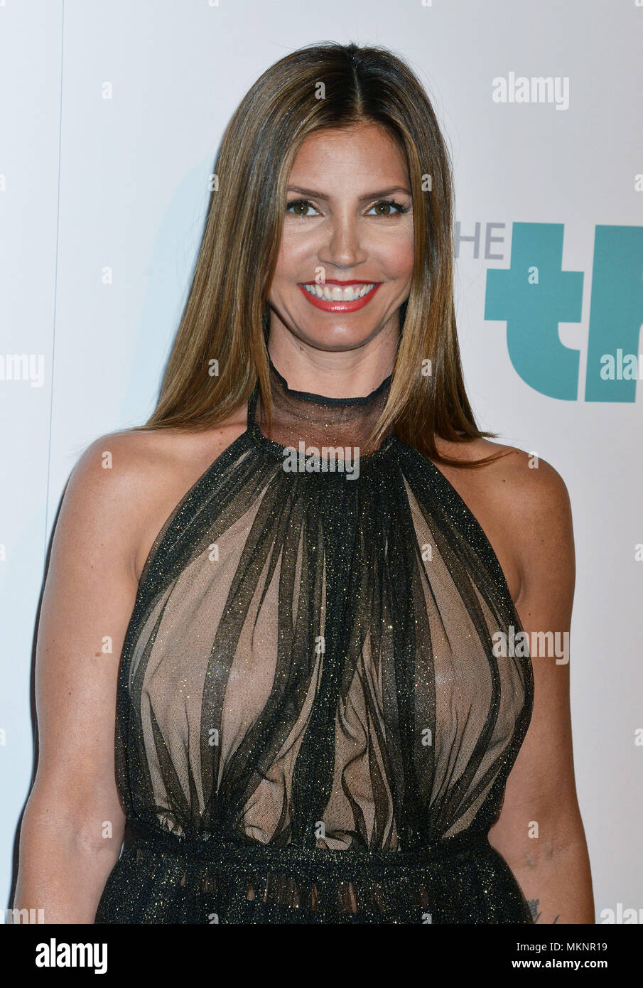 Charisma Carpenter  at the 5th Ann. Thirst Gala at the Beverly Hilton in Los Angeles. Charisma Carpenter 019 Red Carpet Event, Vertical, USA, Film Industry, Celebrities,  Photography, Bestof, Arts Culture and Entertainment, Topix Celebrities fashion /  Vertical, Best of, Event in Hollywood Life - California,  Red Carpet and backstage, USA, Film Industry, Celebrities,  movie celebrities, TV celebrities, Music celebrities, Photography, Bestof, Arts Culture and Entertainment,  Topix, headshot, vertical, one person,, from the year , 2014, inquiry tsuni@Gamma-USA.com - Stock Image
