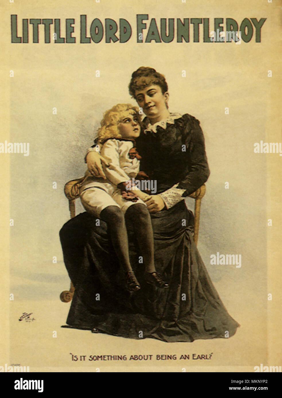 Little Lord Fauntleroy Stock Photo Alamy