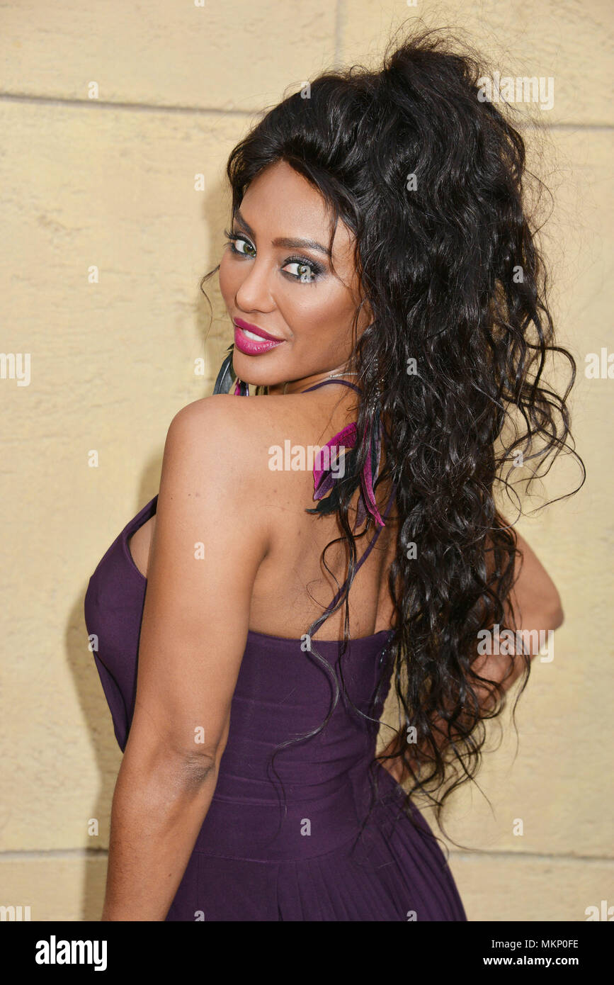 Shyra Sanchez - singer 152 at the Skin Trade Premiere at the