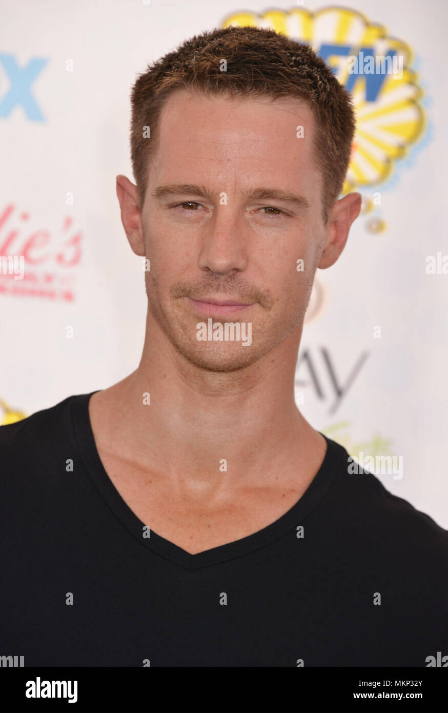 Jason Dohring  at Teen Choice Awards 2014 qt the Shrine Auditorium in Los Angeles.Jason Dohring  Red Carpet Event, Vertical, USA, Film Industry, Celebrities,  Photography, Bestof, Arts Culture and Entertainment, Topix Celebrities fashion /  Vertical, Best of, Event in Hollywood Life - California,  Red Carpet and backstage, USA, Film Industry, Celebrities,  movie celebrities, TV celebrities, Music celebrities, Photography, Bestof, Arts Culture and Entertainment,  Topix, headshot, vertical, one person,, from the year , 2014, inquiry tsuni@Gamma-USA.com - Stock Image