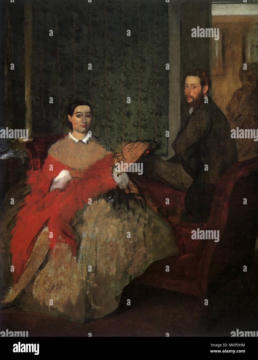 Edmondo and Thérèse Morbilli - Stock Image