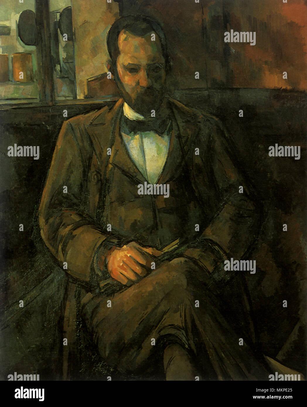 Portrait of Vollard - Stock Image