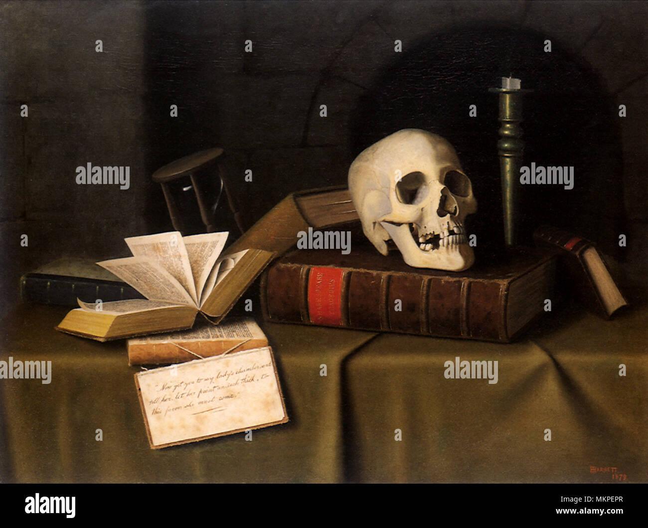 Memento Mori - To This Favour - Stock Image