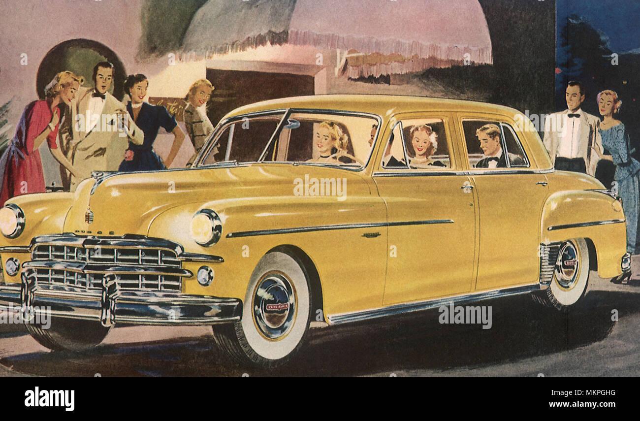 Dodge Coronet Stock Photos Images Alamy 1949 2 Door Image
