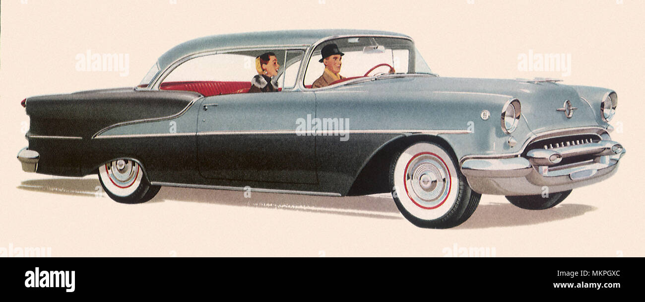 1955 Oldsmobile Super 88 Stock Photo: 184278372 - Alamy