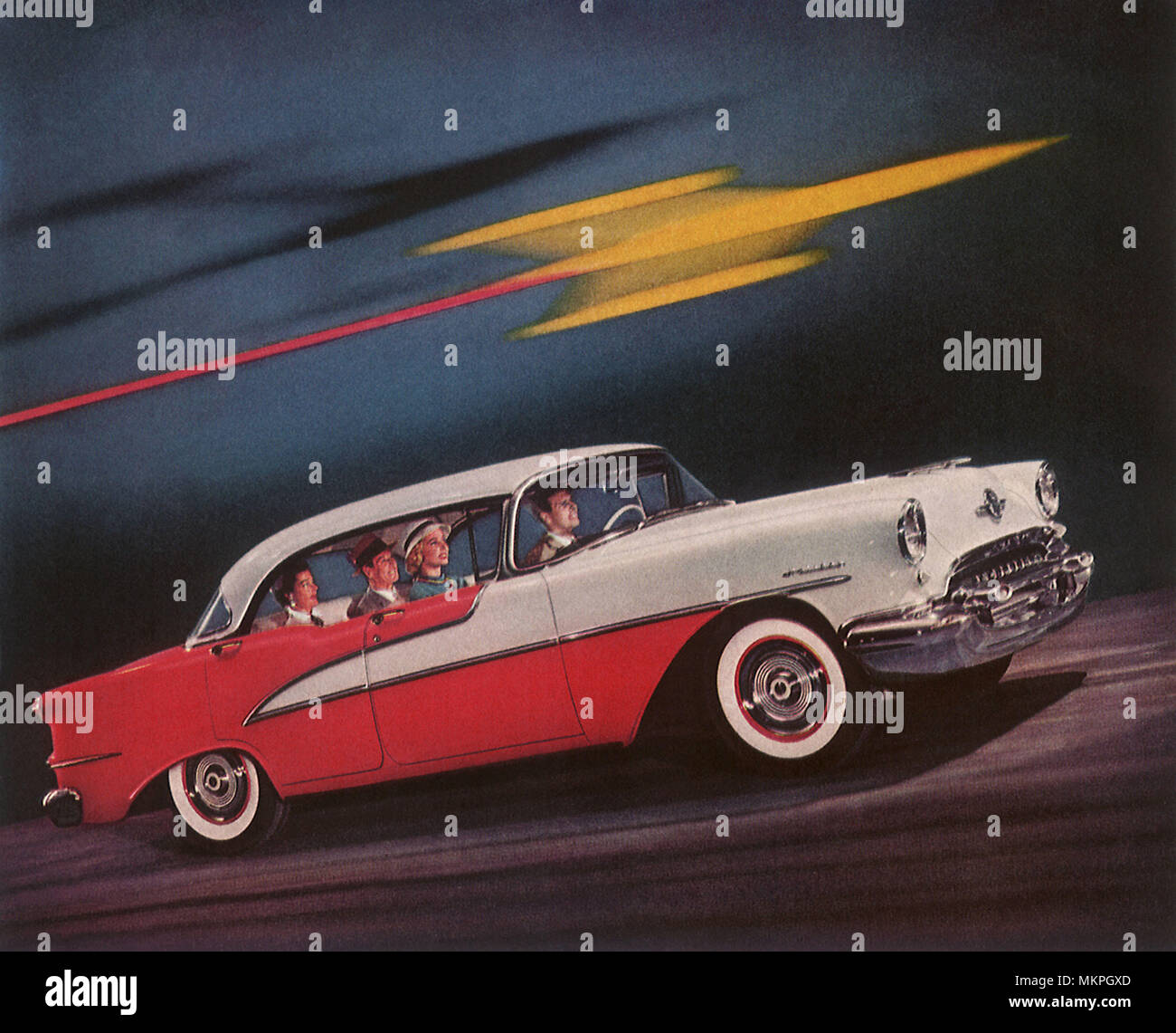 1955 Oldsmobile Stock Photos & 1955 Oldsmobile Stock Images
