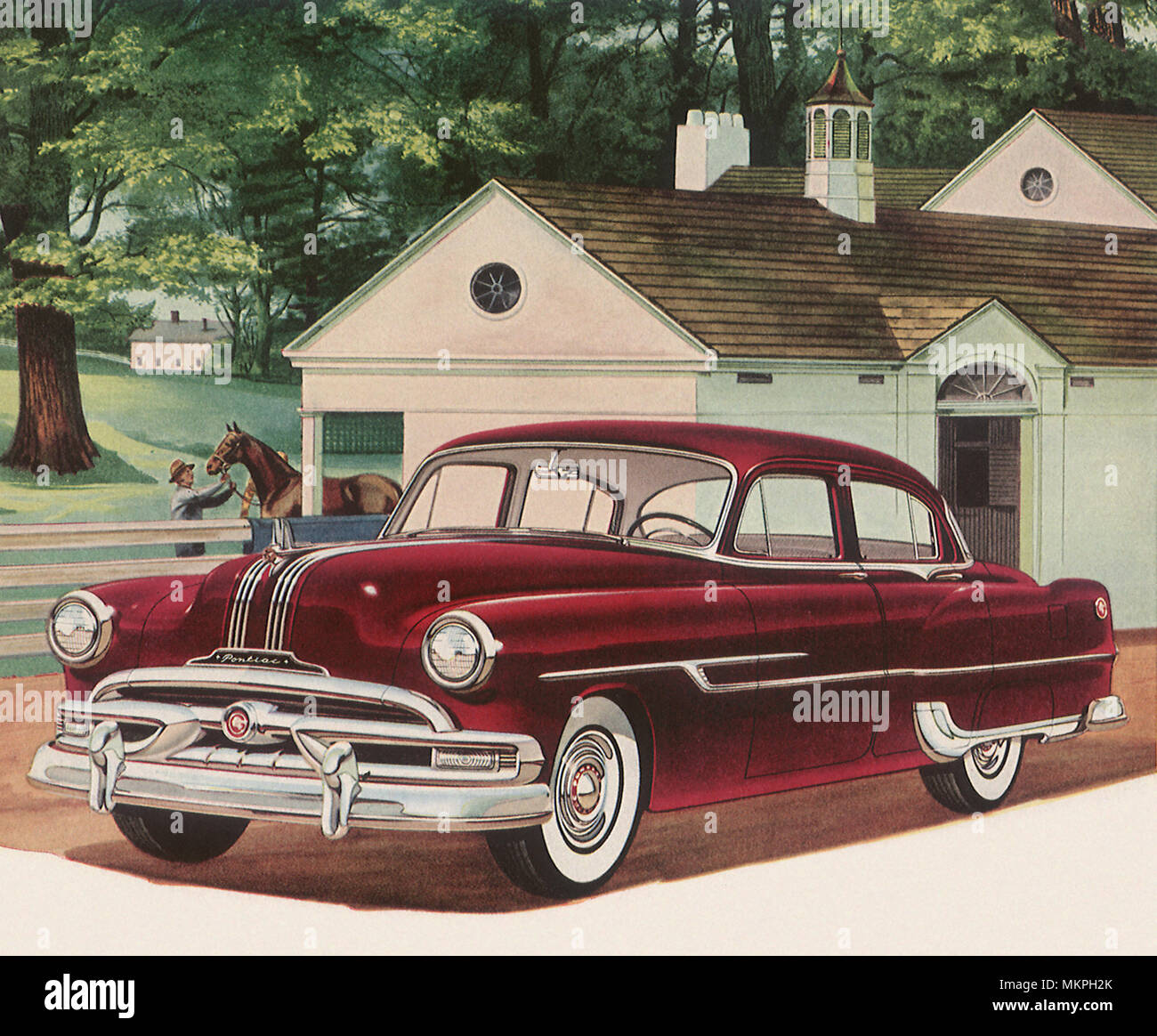 Pontiac Silver Streak Stock Photos 1941 Coupe 1953 Image