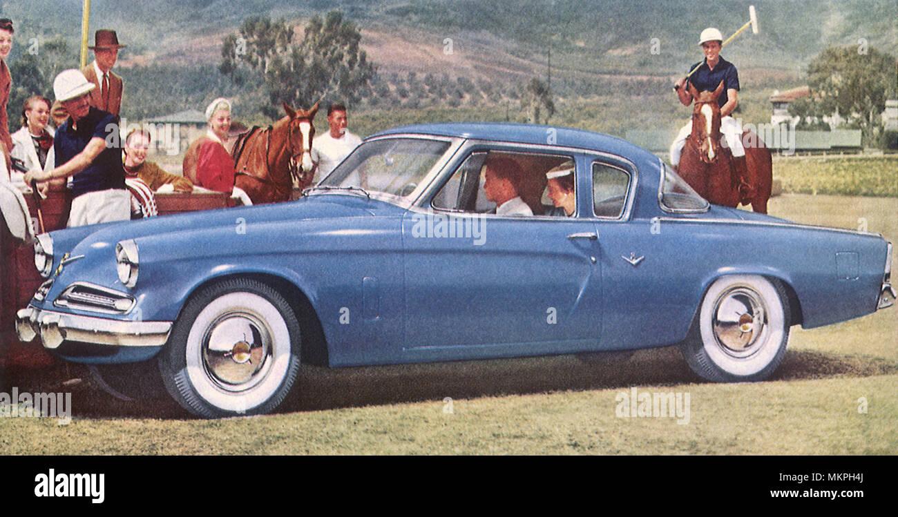 1953 studebaker commander v 8 starlight coupe stock photo 184278546
