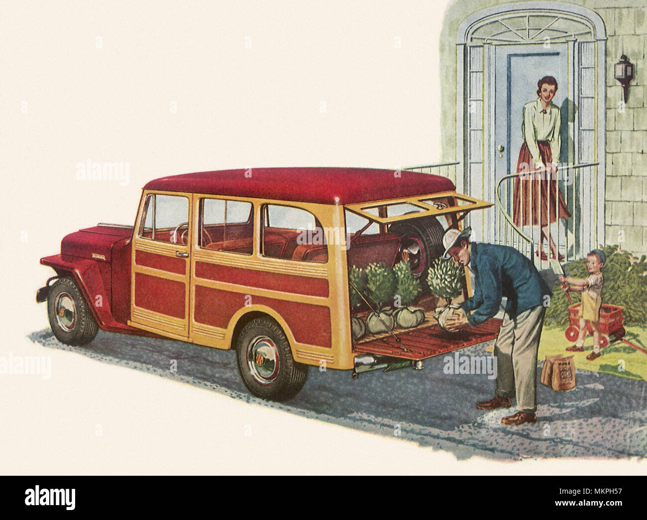 Jeep Willys Stock Photos Images Page 3 Alamy 1941 Station Wagon 1949 Overland Image