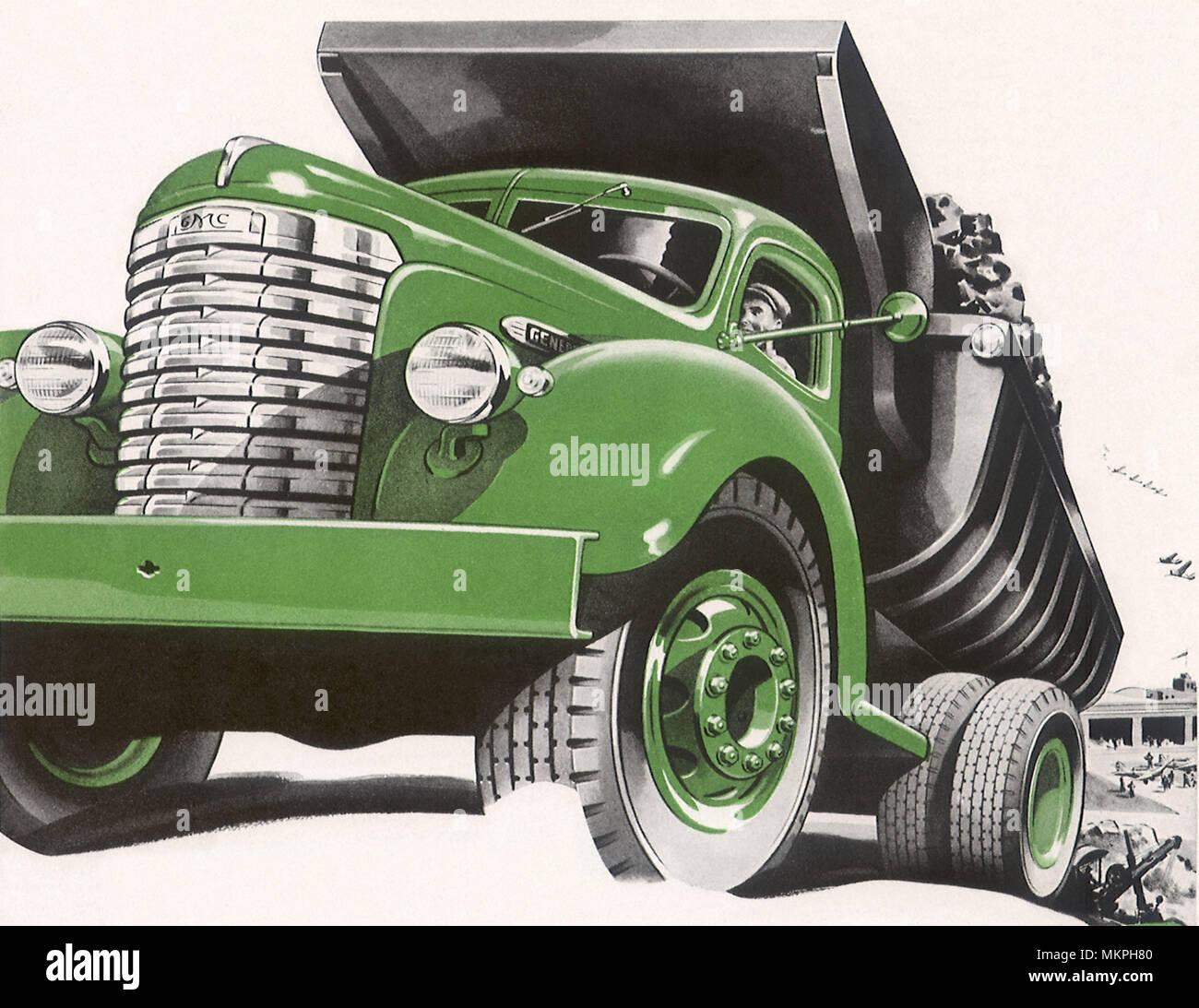 Ford Dump Truck Stock Photos Images Alamy 1941 Grain Gmc Image
