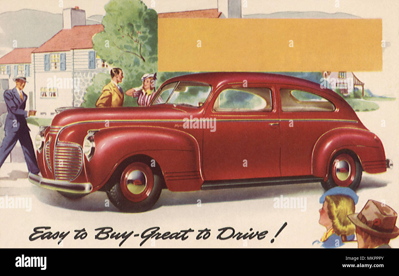1941 Plymouth Sedan Stock Photo 184282979 Alamy Deluxe 2 Door