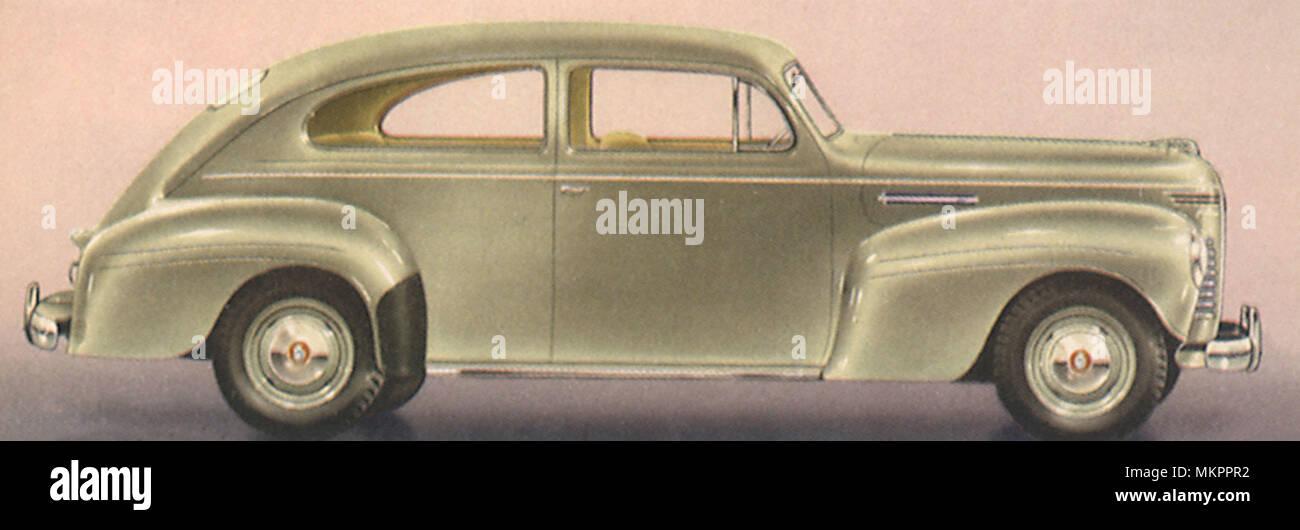 1940 Plymouth De Luxe 2-Door - Stock Image